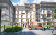 12 maja 2014<br>Decyzja o pozwoleniu na budowę budynków B1 i B2 osiedla mieszkaniowego przy ul. Tenisowej, Ku Słońcu w Szczecinie