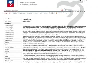 9 listopada 2015<br>Od dziś rusza odnowione Biuro Obsługi Interesantów w Urzędzie Miasta Szczecina