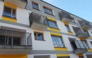 Osiedle mieszkaniowe przy ul. Tenisowej, Ku Słońcu w Szczecinie luty 2016