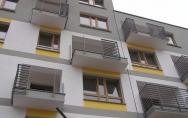 Osiedle mieszkaniowe przy ul. Tenisowej, Ku Słońcu w Szczecinie kwiecień 2016