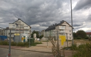 osiedle mieszkaniowe przy ul. Armii Krajowej w Stargardzie sierpień 2016