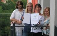 Dyplom uznania STBS za projekt osiedla Brzozowy Zakątek 09.08.2010