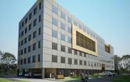 projekt budynek biurowy Warszawa wygląd ostateczny