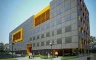 projekt budynek biurowy Warszawa wizualizacja na etapie projektu budowlanego
