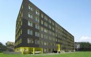 projekt budynek biurowy Warszawa wizualizacja na etapie koncepcji