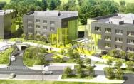 Technopark Pomerania wizualizacje nowych budynków www.spnt.pl