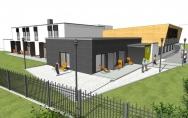 projekt ośrodek wypoczynkowy Słoneczny Brzeg Mielno-Unieście budynek F