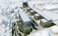 koncepcja Green Business Park ul. Mieszka I w Szczecinie