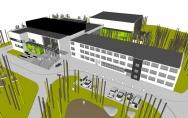 projekt basen i modernizacja ośrodka wczasowego w Unieściu