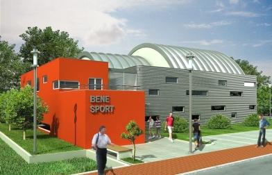 projekt hala sportowa w Szczecinie