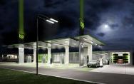 projekty stacji paliw