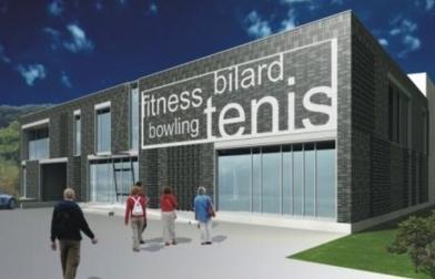projekt centrum sportowe w Szczecinie