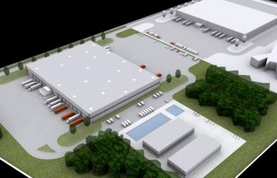 koncepcja centrum logistycznego