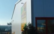 projekt hurtownia kwiatów Blumen-NOB w Szczecinie