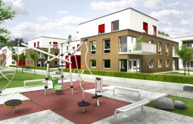 koncepcja osiedla mieszkalnego Warszawa Włochy