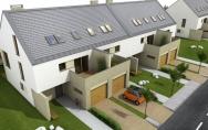 osiedle budynków mieszkalnych jednorodzinnych ul. Zdziarska w Warszawie