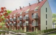 projekt budynek mieszkalny wielorodzinny KTBS ul. Artyleryjska w Kołobrzegu - wariant elewacji