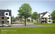 projekt osiedle budynków wielorodzinnych Stepnica wizualizacja