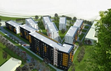 projekt osiedle mieszkalne ul. Kłobucka Warszawa Ursynów