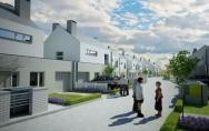 projekt osiedle mieszkalne ul. Zbójnicka w Szczecinie