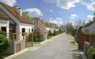 projekt osiedle mieszkalne Stare Bielice gmina Biesiekierz