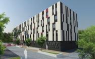 koncepcja Hotel Start Warszawa II miejsce w konkursie 2010