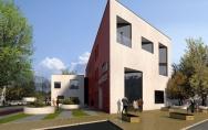koncepcja budynku biurowego II miejsce w konkursie TBS Prawobrzeże Szczecin 2010