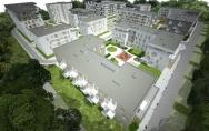 Osiedle mieszkaniowe z usługami ul. Ku Słońcu, Tenisowa w Szczecinie I miejsce w konkursie Zagospodarowanie terenu