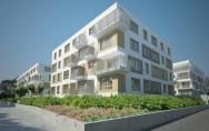 Osiedle mieszkaniowe z usługami ul. Ku Słońcu, Tenisowa w Szczecinie I miejsce w konkursie Etap 4 budynki B9, B10, B11, B12