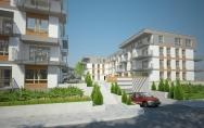 Osiedle mieszkaniowe z usługami ul. Ku Słońcu, Tenisowa w Szczecinie I miejsce w konkursie Etap 1 budynki B1 i B2