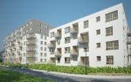 Osiedle mieszkaniowe z usługami ul. Ku Słońcu, Tenisowa w Szczecinie I miejsce w konkursie Etap 2 budynki B3, B4, B5, B6
