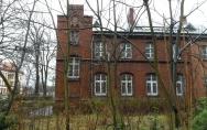 Budynek przeznaczony na Centrum Badań Strukturalno - Funkcjonalnych Człowieka Uniwersytetu Szczecińskiego