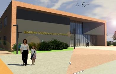 Gminny Ośrodek Kultury w Przecławiu - wygląd ostateczny