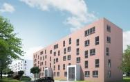 Czerwiec 2016<br>Koncepcja budynku mieszkalnego wielorodzinnego w Stargardzie