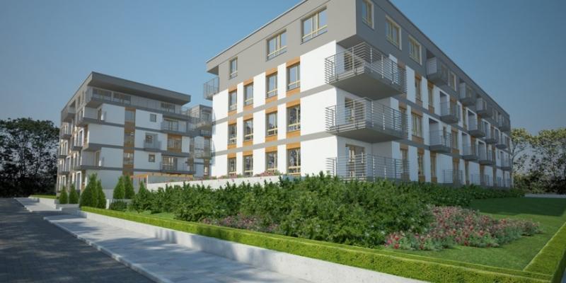 Osiedle mieszkaniowe w Szczecinie I miejsce w konkursie