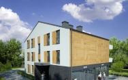 budynek mieszkalny wielorodzinny z usługami w parterze